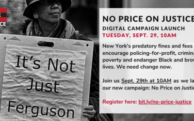 Press Highlights: No Price on Justice Campaign Launch
