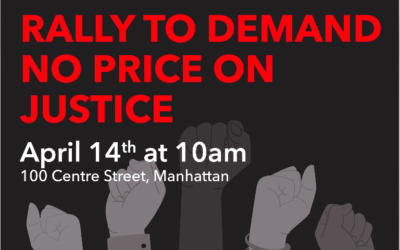LIVE ACTION: Rally to Demand an End to New York's Predatory Court Fees, April 14th at 10AM