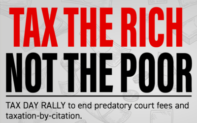LIVE ACTION: Tax Day Rally to Tax the Rich, Not the Poor