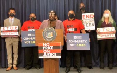PRESS RELEASE: Advocates Rally at State Capitol As NY Senate Holds Hearing on End Predatory Court Fees Act